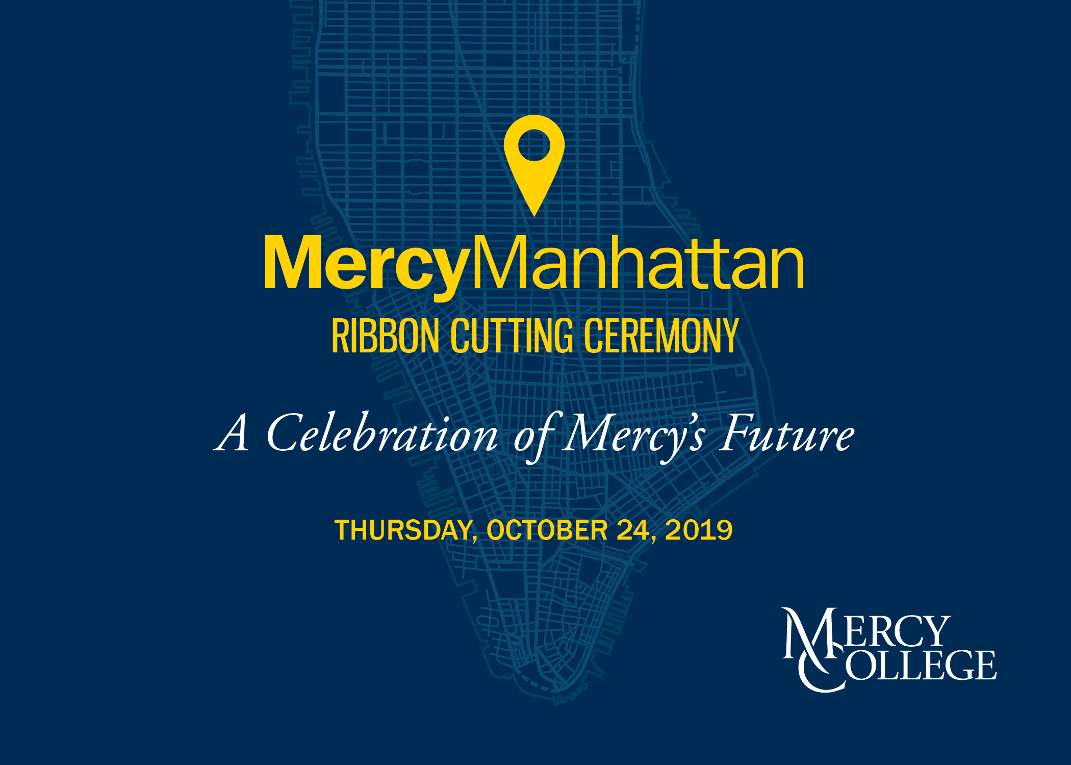 MercyManhattan Ribbon Cutting