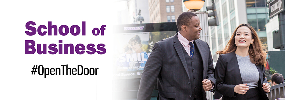 2019 Fall Appeal School of Business Header