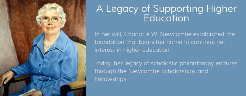 Charlotte newcombe dissertation grant